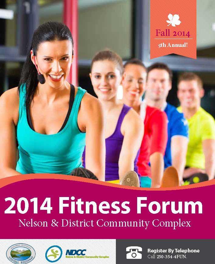 course calendar - ndcc fitness forum, nelson … | cfes group fitness ...