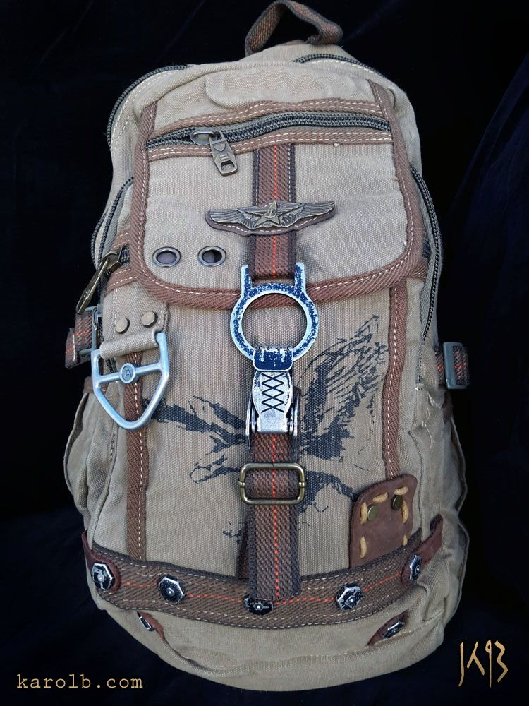 5ed04e0e6318 The Fallout Ferret post-apocalyptic backpack. Available at KarolB.com  49