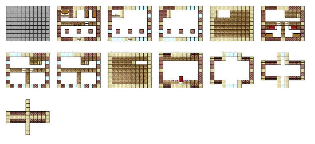 minecraft house blueprints layerlayer 04 … | pinteres…