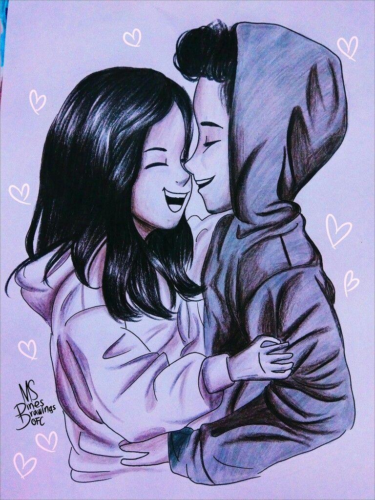 Desenho Desenhos De Namorados Juntos Desenhos De Casais