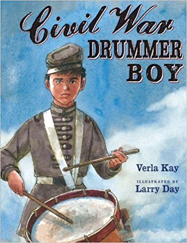 Civil War Drummer Boy Hardcover $17.95