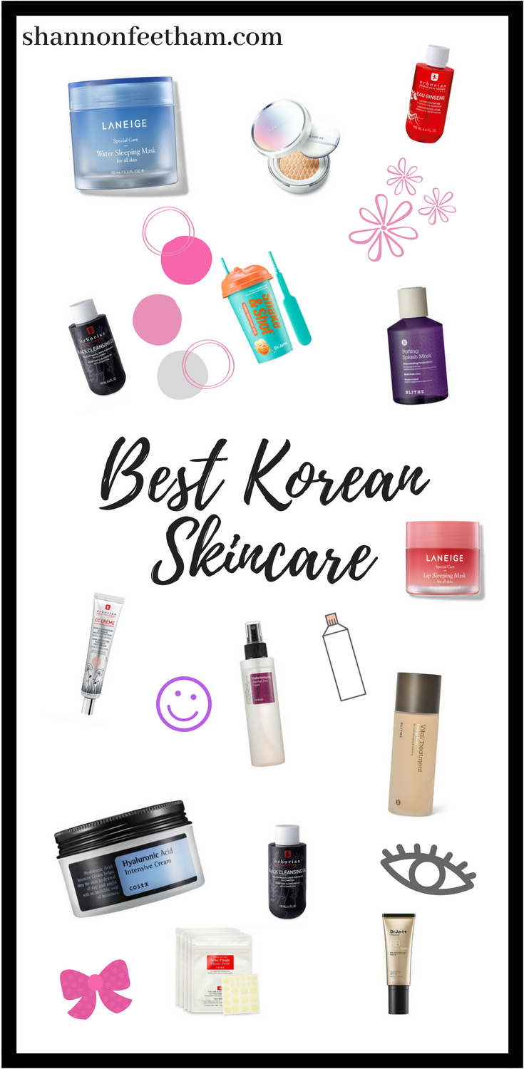 Top Korean Skincare Products You Need To Try Shannon Feetham Korean Skincare Skin Care Routine Steps Skin Brightening