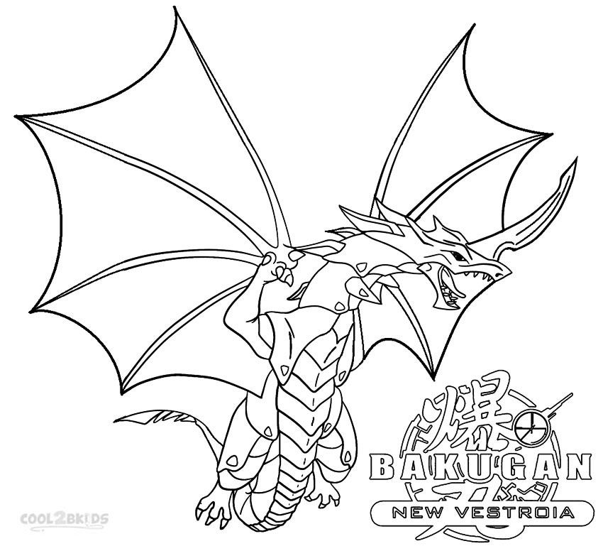 Bakugan Coloring Pages With Images Coloring Pages For Kids