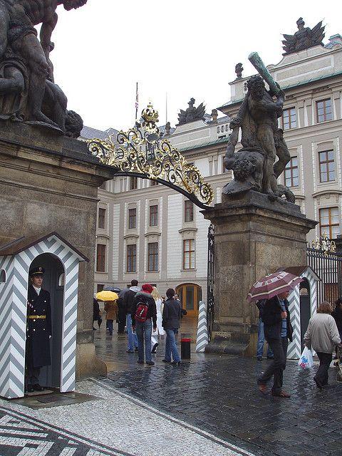 Entrance to the Castle, Prague, Czech Republic
