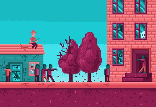 Zombie game on Behance