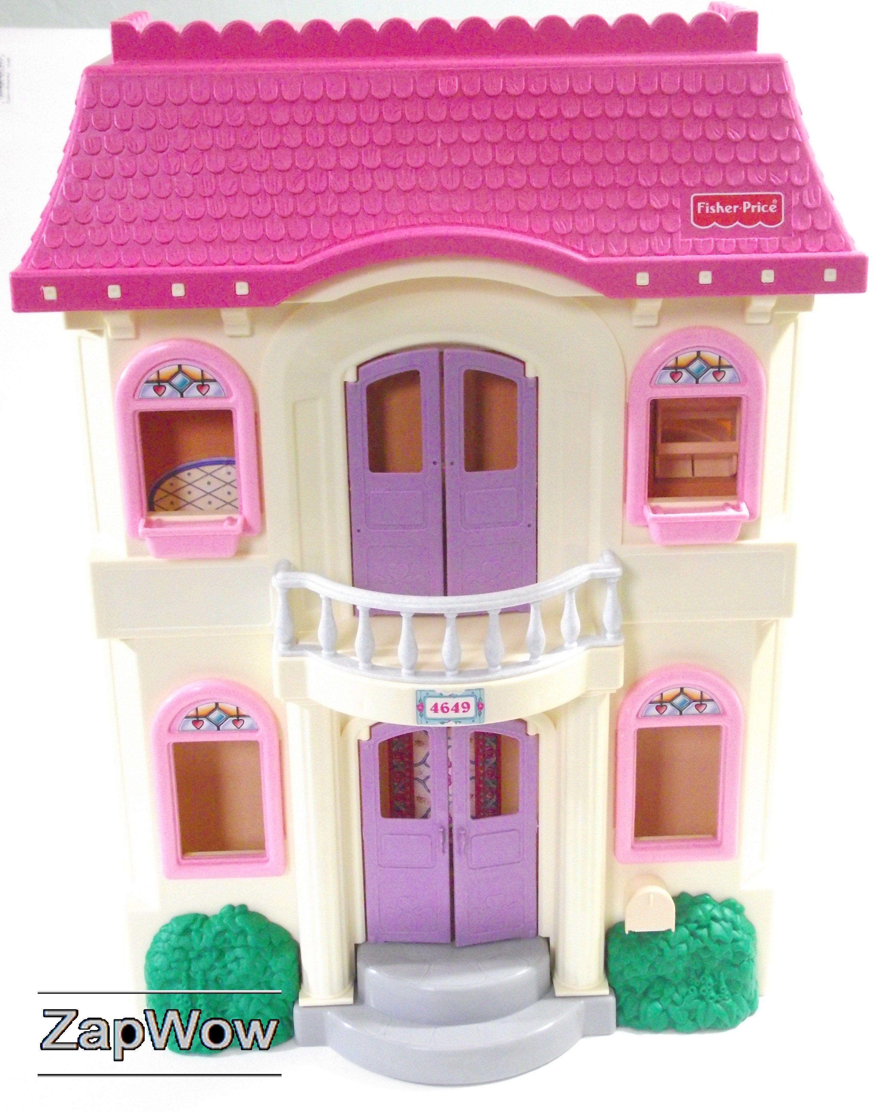 FisherPrice Loving Family Folding Doll House 2002. SOLD £