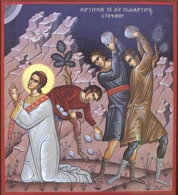 Feast of St. Stephen;  Christian Religious Celebration;  December 26;  The first martyr (by stoning); patron saint of stonemasons and horses.