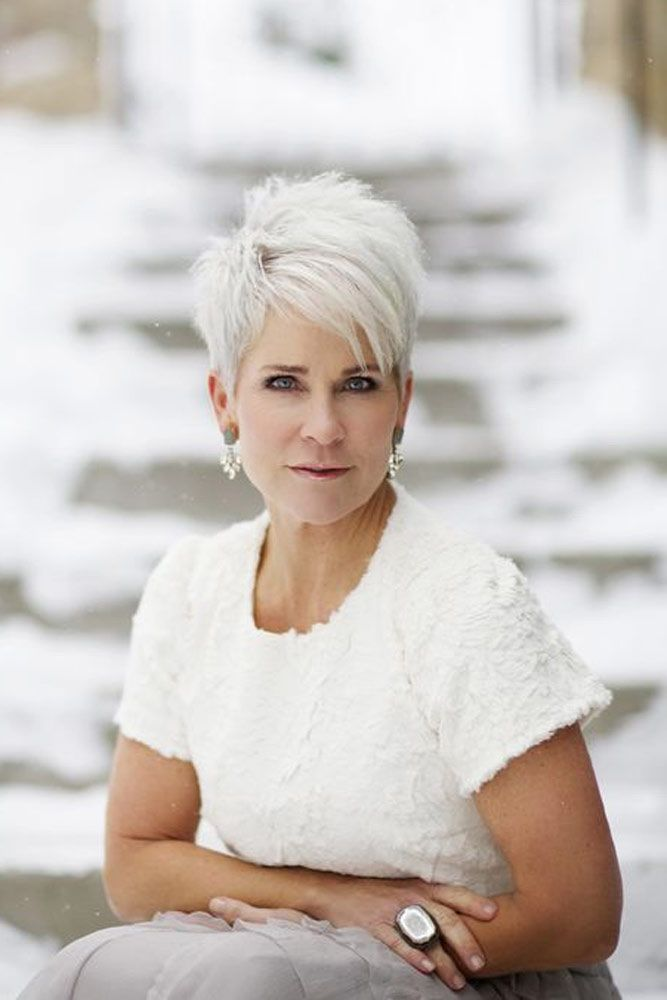 44 Stylish Short Hairstyles For Women Over 50 Short Pixie