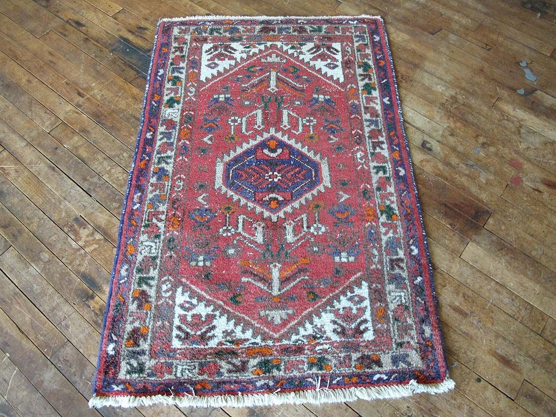 Crate And Barrel Kitchen Rugs Vintage Distressed Pink Blue Persian Hamadan Rug 2x4 Kitchen Rug