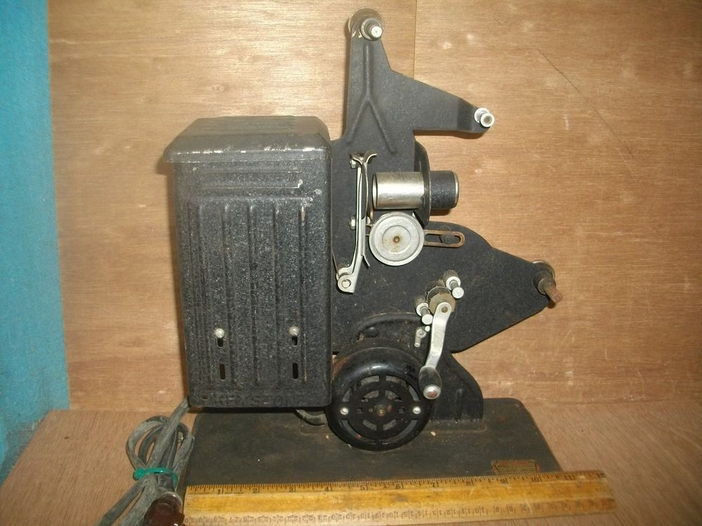 N140 Antique Keystone Movie Projector Steampunk Decor Parts
