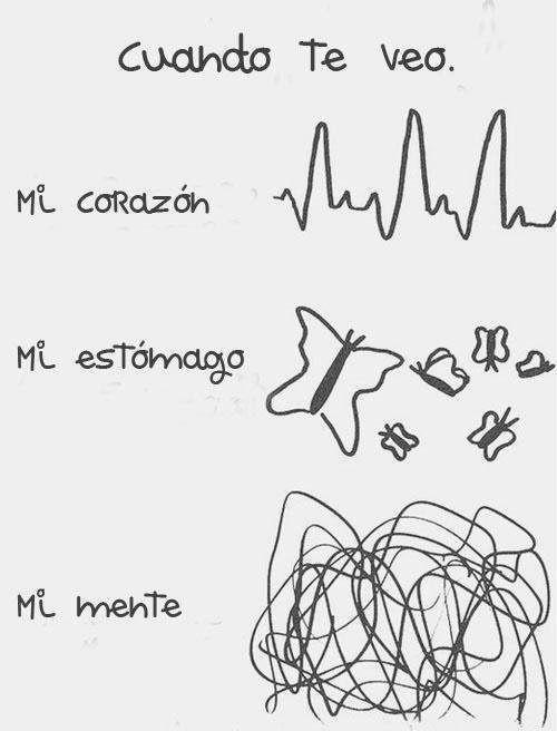 Pin De Ale Graux En Amor Frases Frases Cuando Te Veo Frases De Amor