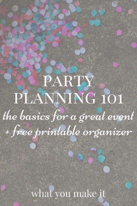 Photo of Partyplanung 101: Die Grundlagen für eine großartige Veranstaltung – What You Make It