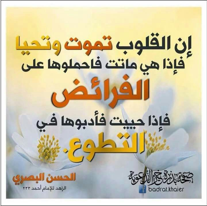 Pin By Abdoumami On أقوال العلماء Islamic Inspirational Quotes Words Of Wisdom Words