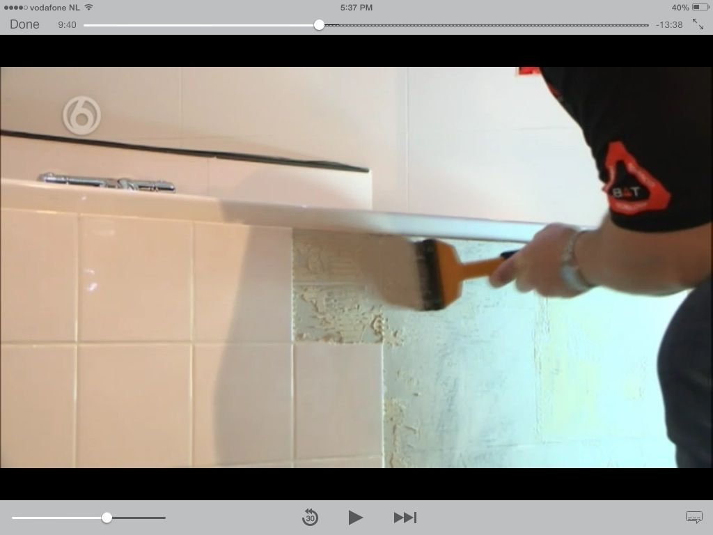 tegels verven badkamer bath room pinterest bath room bath