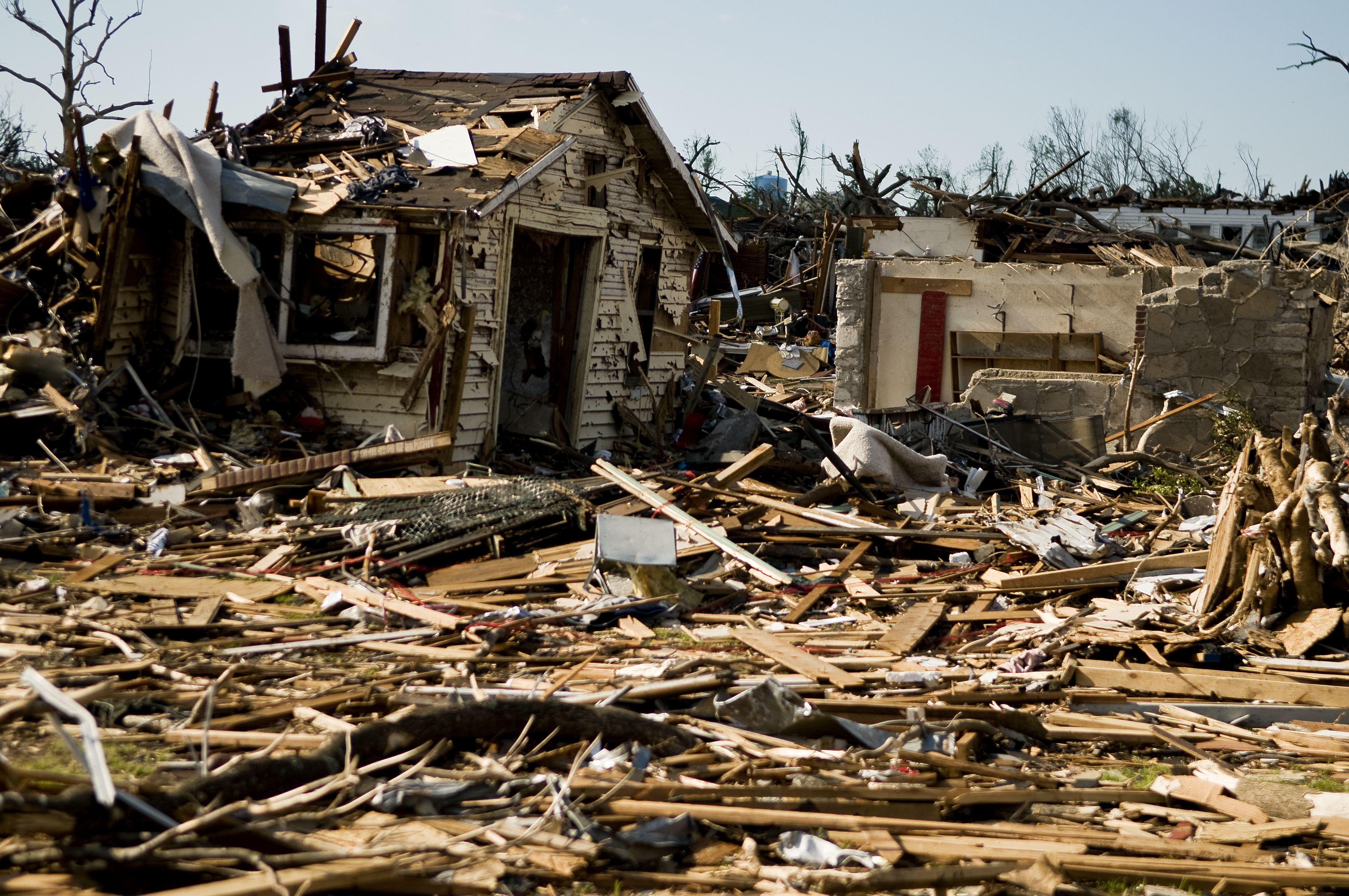 Devastation The Tornado Left So Much Devastation That People