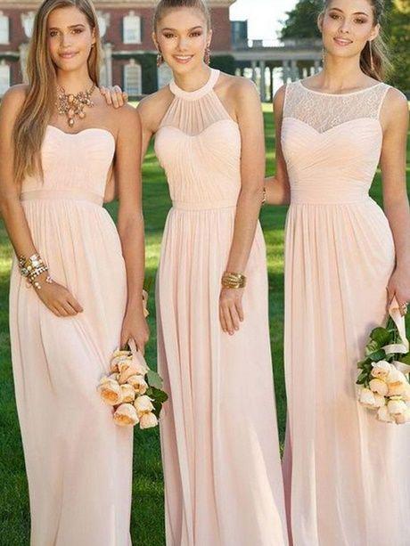 Brautjungfernkleider Altrosa Brautjungfern Kleider Brautjungfernkleid Hochzeit Brautjungfer Kleid
