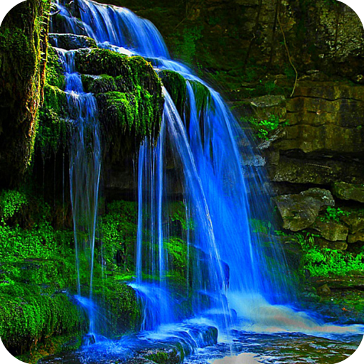 Vertical moving waterfall pictures with sound moving - A live nature wallpaper ...