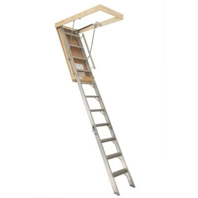 Home Depot Attic Stairs 211 With Firewall Should Think About Updating The Ones In The Garage Attic Stairs Attic Ladder Folding Attic Stairs