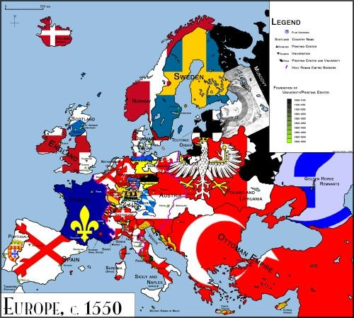 Europe 1550 Europe Pinterest Historical Maps Imaginary Maps