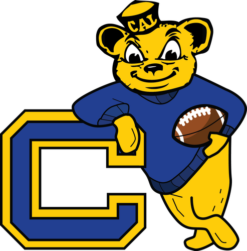 California Berkeley Golden Bears Retro Logo Cal Bears Cal Bears