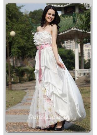 www.dressdo.com   Strapless Evening Dress  US$ 149.99