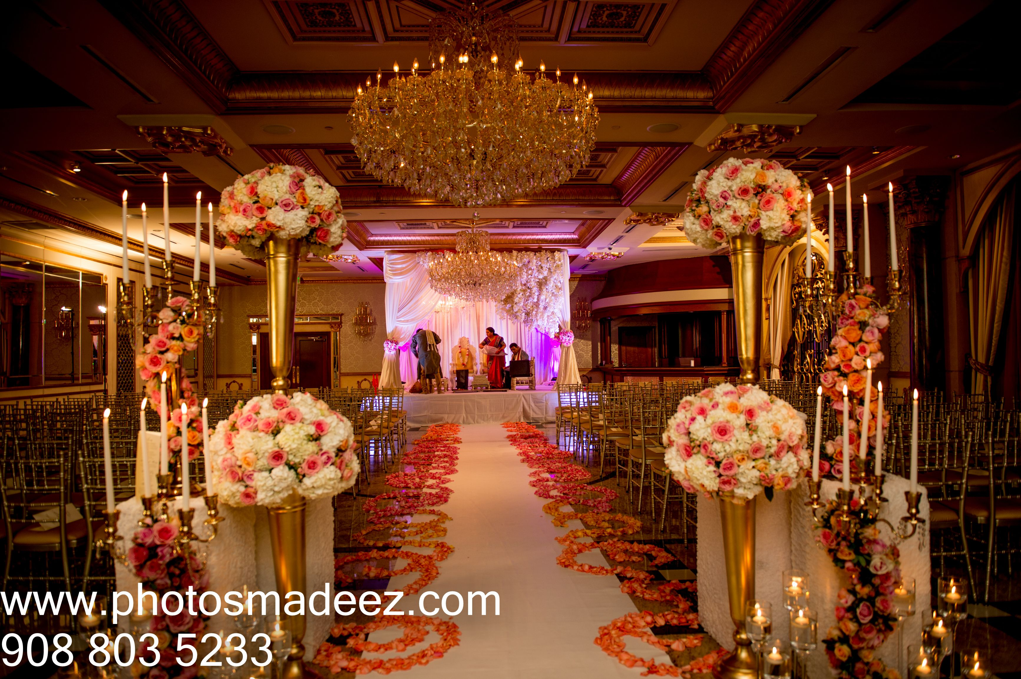 Wedding Reception Decor at The NJ Indian