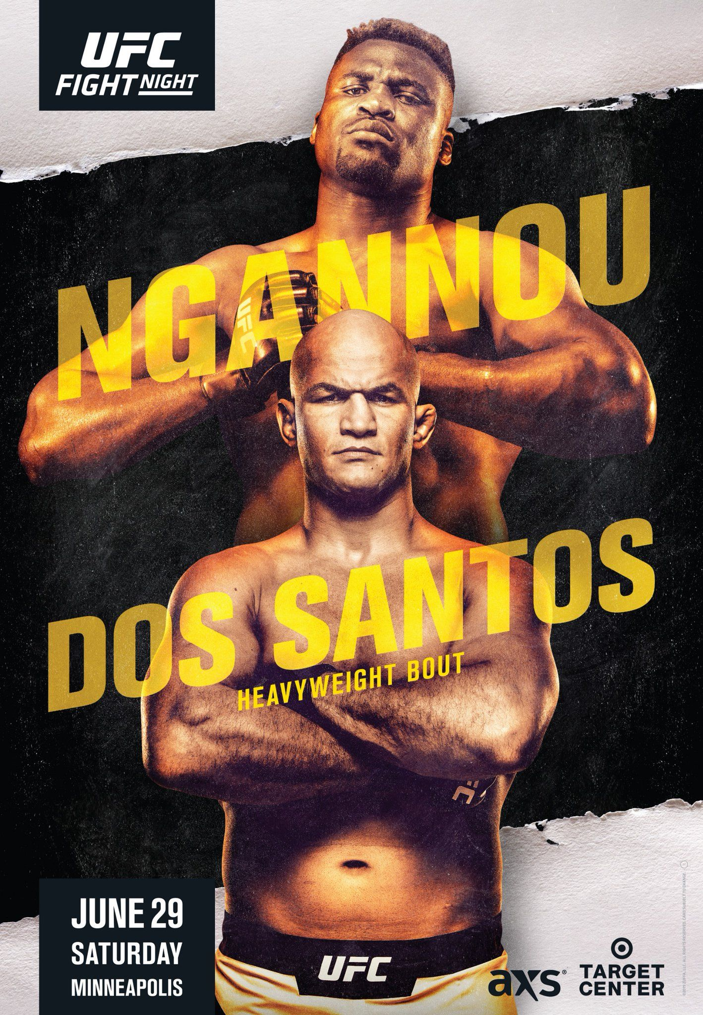 UFC ON ESPN 3 NGANNOU VS. DOS SANTOS UFCMINNEAPOLIS