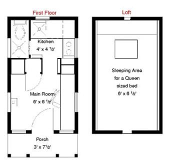 Tumbleweed Epu Tiny House Plans And Video Tour Tiny House Floor Plans Modern Tiny House House Floor Plans