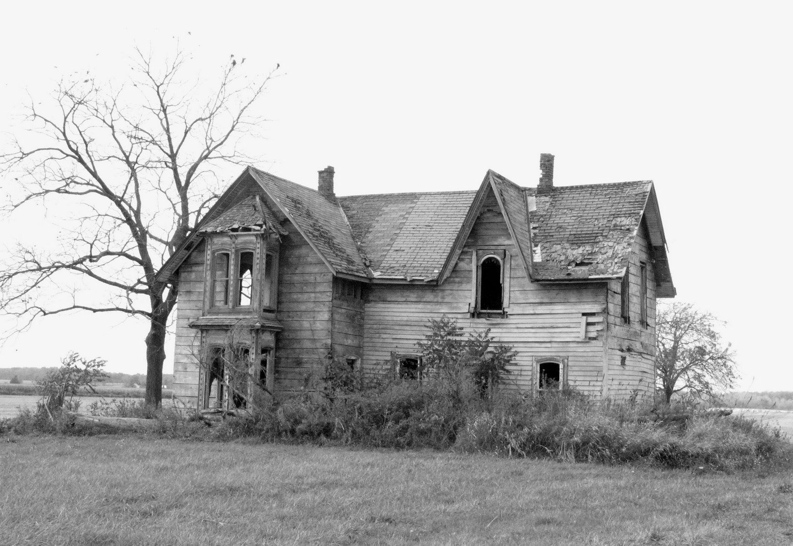 Creepy Old Abandoned Farm Houses - Year of Clean Water