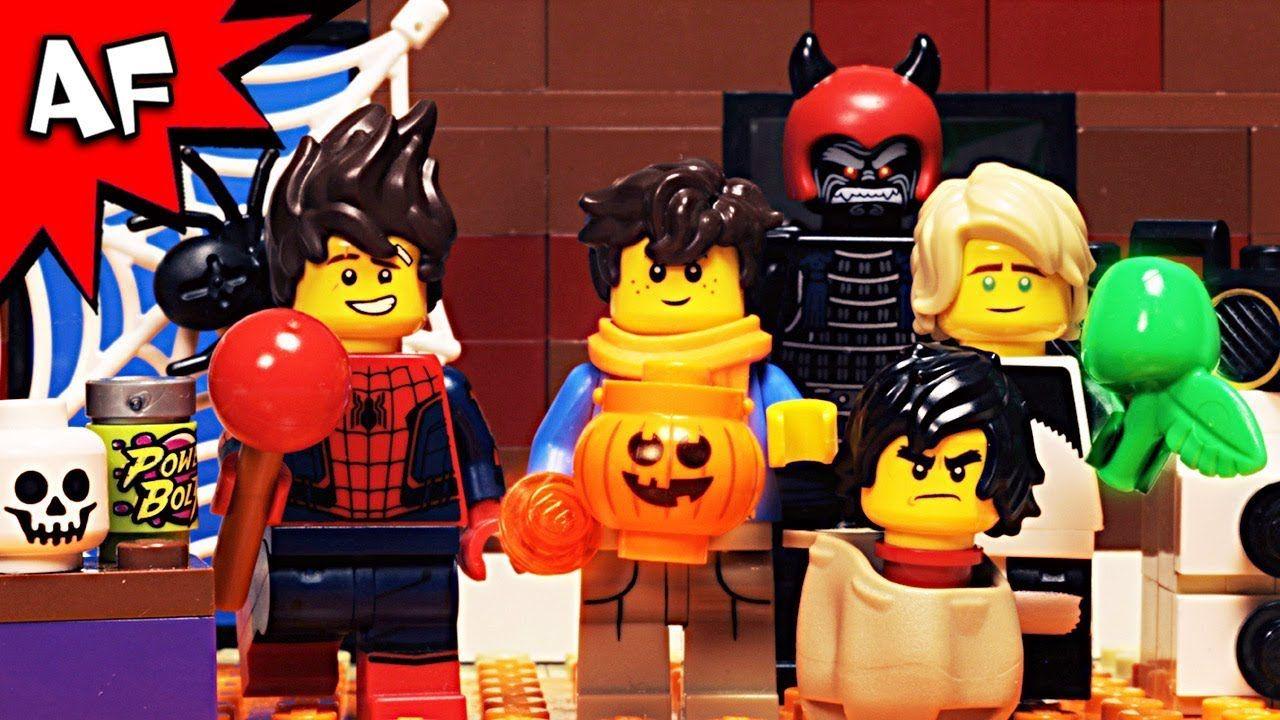 lego ninjago halloween ghost haunting part 3