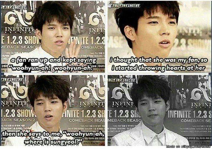 Sungyeol still has fans fam