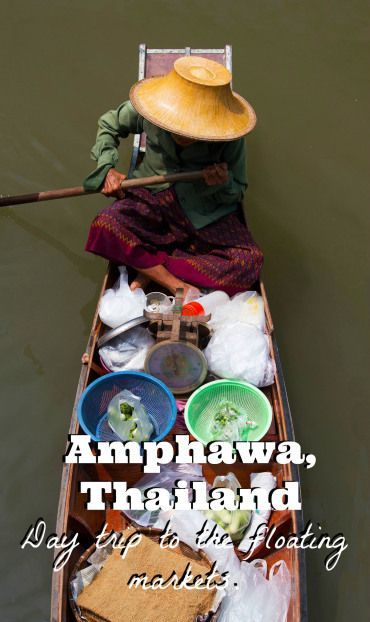 Join the floating markets in Amphawa, Thailand for a look into a Thai tradition without the crowds. Pick a modern or old fashion market and enjoy your day. Find out more on our website.