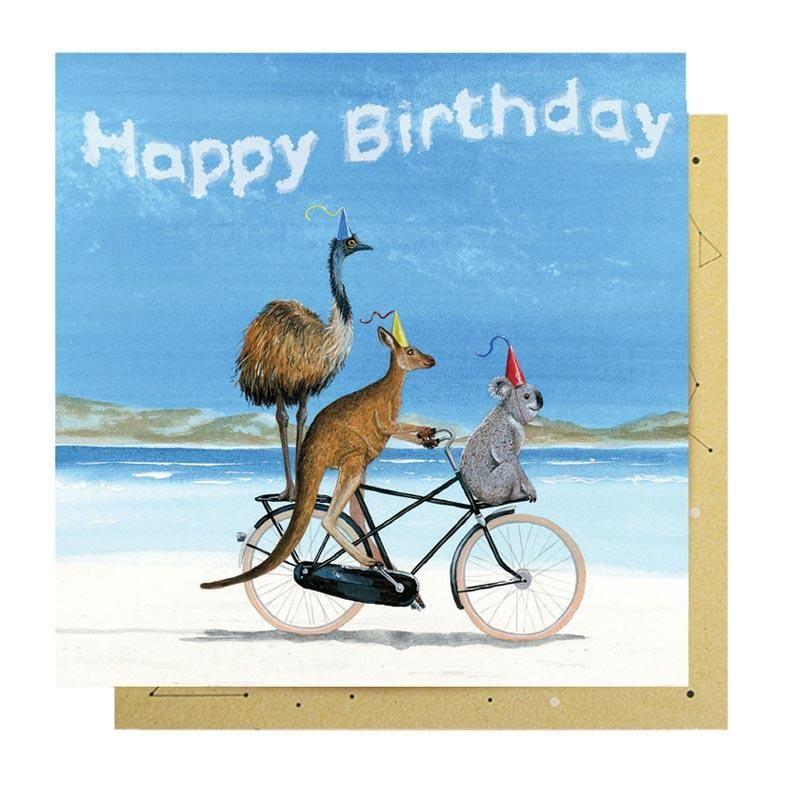 Beach Birthday Greeting Card Birthday Greetings Birthday Greeting Cards Beach Birthday