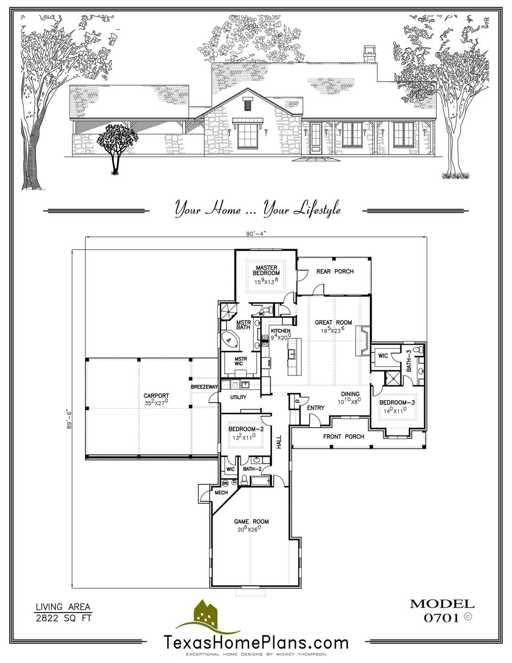 Texas Home Floor Plans And Designs on texas ranch style home plans, custom home floor plans, one story floor plans, dallas style home plans, ranch modular home floor plans,