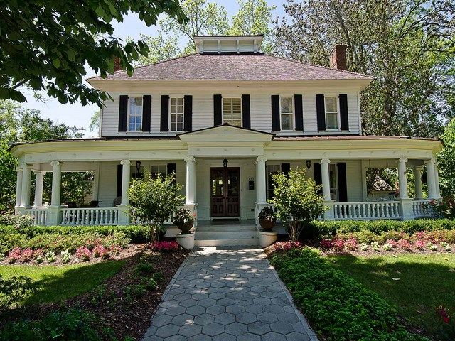 Terrific Wrap Around Porch And Southern Charm Antebellum Homes Water House House With Porch