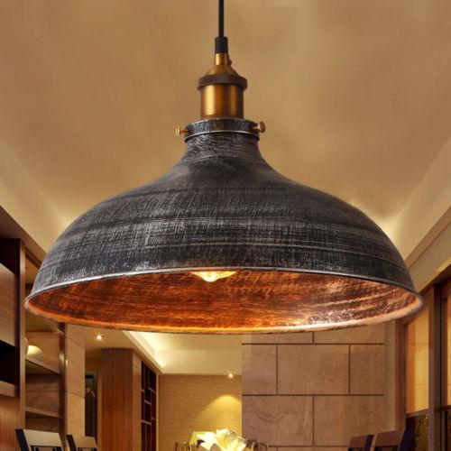 Details About 14 Vintage Industrial Pendant Light Ceiling Lamp