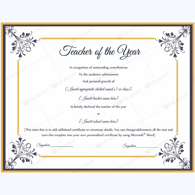 teacher of the year 05