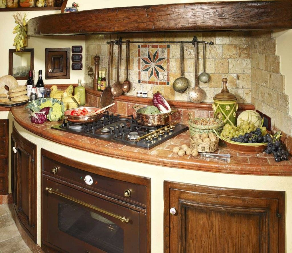 Beautiful Cucina Rustica In Pietra Photos - Ideas & Design 2017 ...