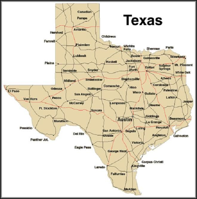 Maps Map Ot Texas Blog With Collection Of Maps All Around The World - Map ot texas