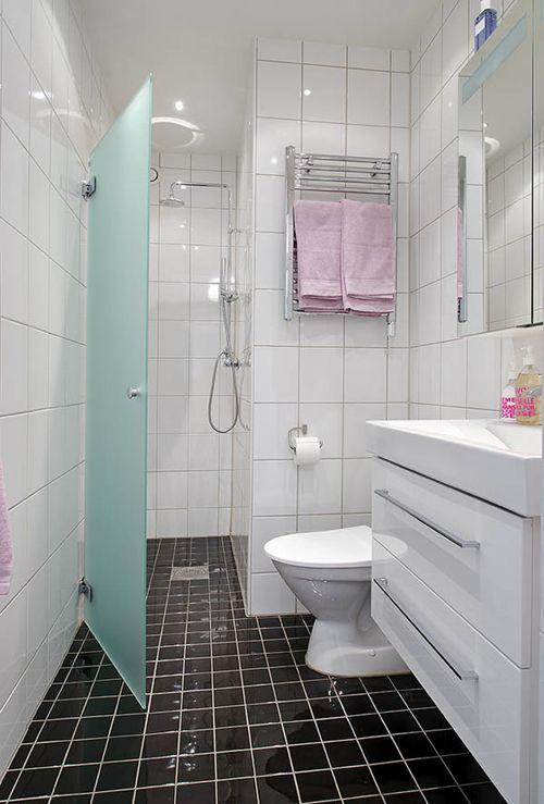 Kleine badkamer in Göteborg | Interieur inrichting | Binnenhuis ...