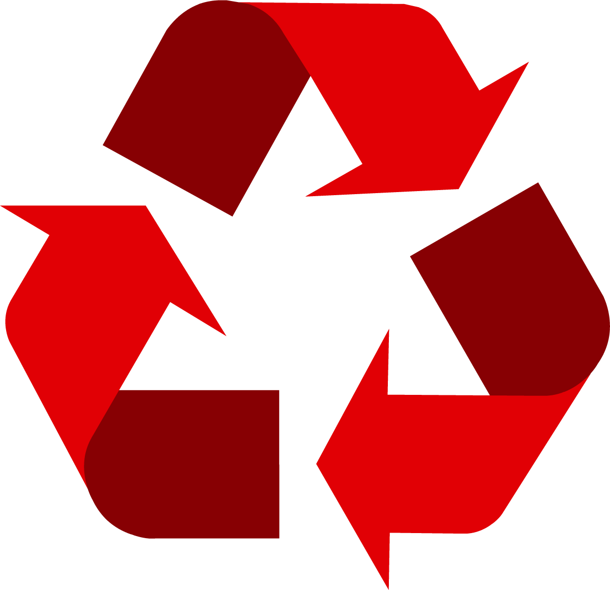 Red universal recycling symbol logo sign httpwww red universal recycling symbol logo sign httprecycling biocorpaavc Gallery
