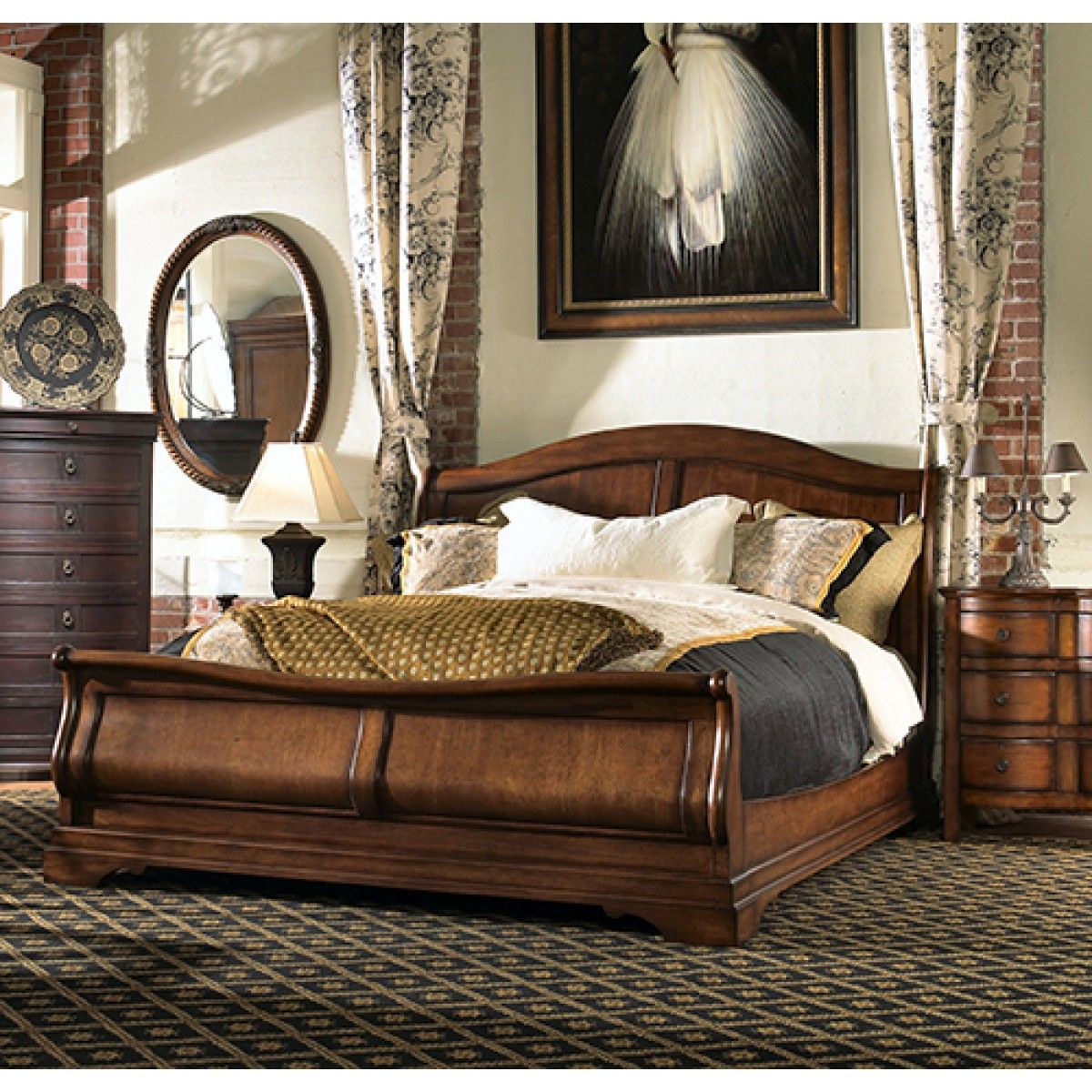 amusing kincaid bedroom furniture. Carriage House King Sleigh Bed By Kincaid Furniture - Belfort | Dream Home- Some Assembly Required Pinterest Furniture, Amusing Bedroom E