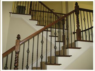Best Styles Of Wrought Iron Stairs Spindles Change Wood Stairs To Iron Stair Spindles Stair 400 x 300