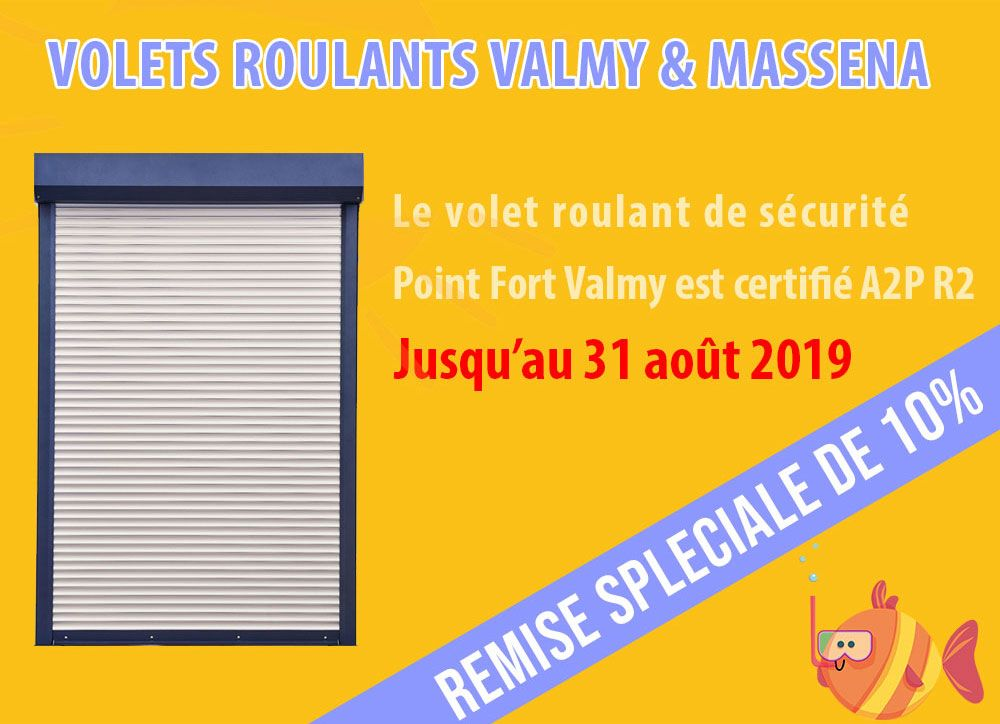 Volets Roulants Valmy Massena Remise Speciale De 10 Ete2019