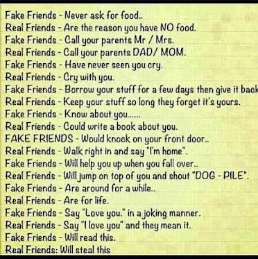 Funny Jokes Google The Real Difference Between Real Friends And Fake Friends 1077065688 Friends Quotes Birthday Quotes For Best Friend Best Friend Quotes