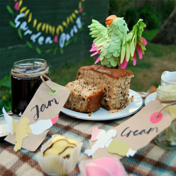 The Perfect decorazioni di carta per un Garden Party Summer - Tuts + Crafts & Tutorial fai da te