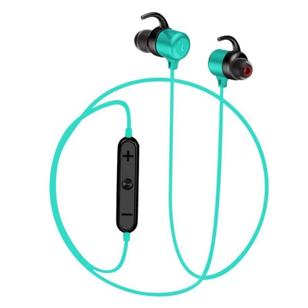Ecouteurs Bleu Bluetooth Sport Magnétique Products Bluetooth
