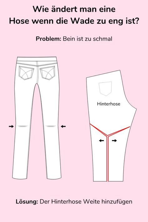 Photo of Jeans nähen Teil 2: Passform Änderungen für Hosen | Nähtalente