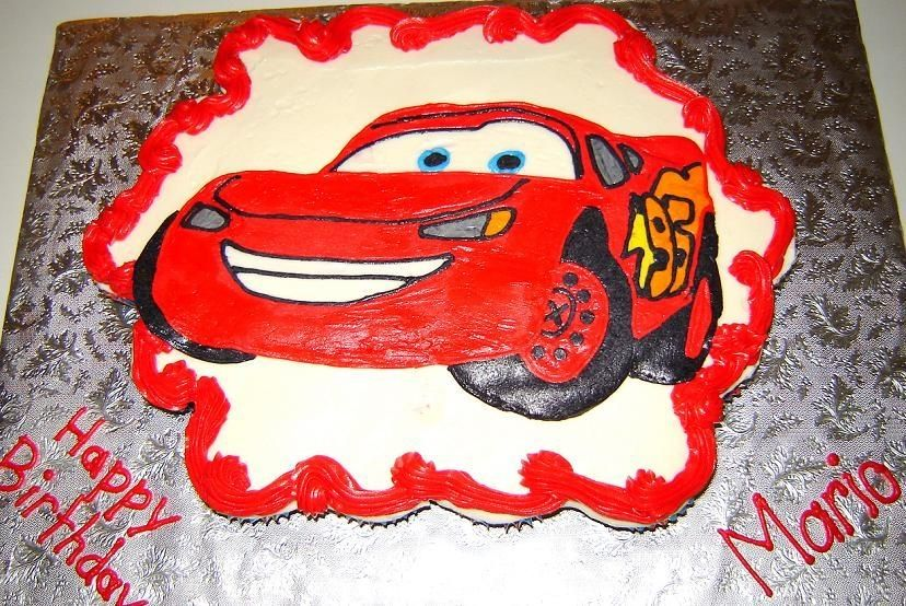 Cars Cupcake cake DisneyPixars Cars Party Pinterest Cake