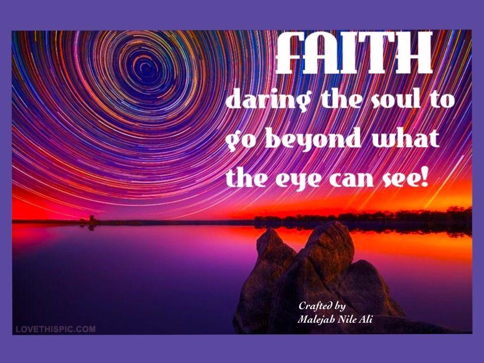 * Faith | Maleja Nile Ali